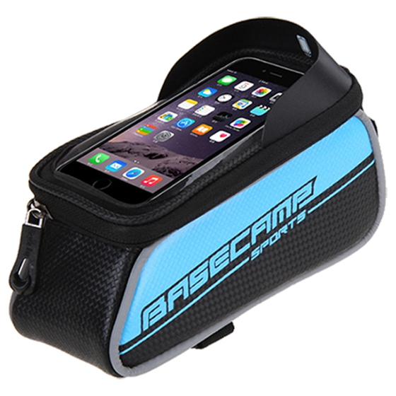 BASECAMP Sport Mountain Bike Bicycle Bags Panniers For Phone Front Frame Road Cycling Accessories