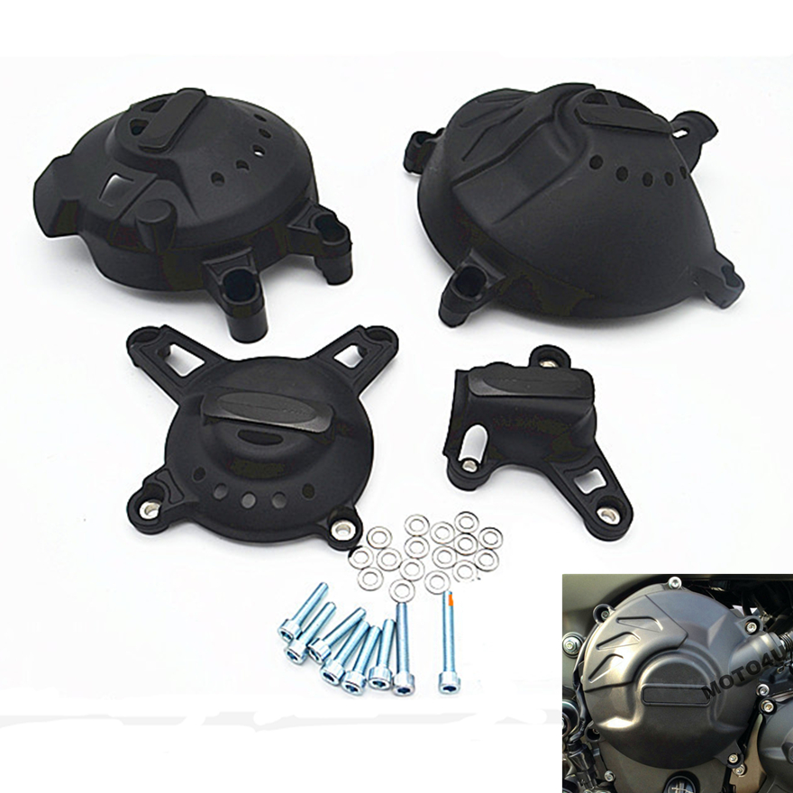 New MT 09 MT09 tracer 2015 2016 Motorcycle Engine Protection Cover Water Pump Covers Case for YAMAHA MT-09 FZ09 2013-2017 New MT 09 MT09 tracer 2015 2016 Motorcycle Engine Protection Cover Water Pump Covers Case for YAMAHA MT-09 FZ09 2013-2017