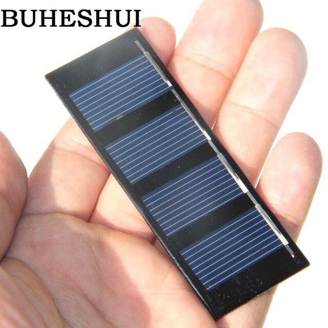 BUHESHUI Pannelli Solari 2 V 0.2 W 100MA Mini Solar Cell Per Piccoli  Elettrodomestici Potenza Giocattolo