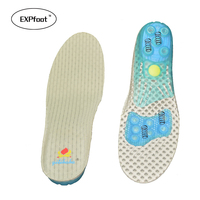 New Style EVA Spring Sports Insole Orthotics Insoles Deep Heel Cup Flat Feet Shock Absorption For