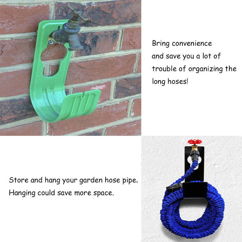 Delicieux Hose Pipe Hook Hanger Organizer Stand Holder ABS House Outdoor Pipe Holder  Flexible Expanding Plastic Garden Home 2A0293 In Hooks U0026 Rails From Home U0026  Garden ...
