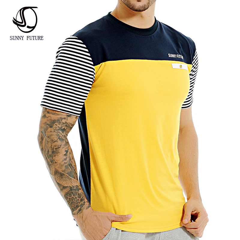 2016 hot sale new fashion brand o neck trend short sleeve for New fashion t shirt man