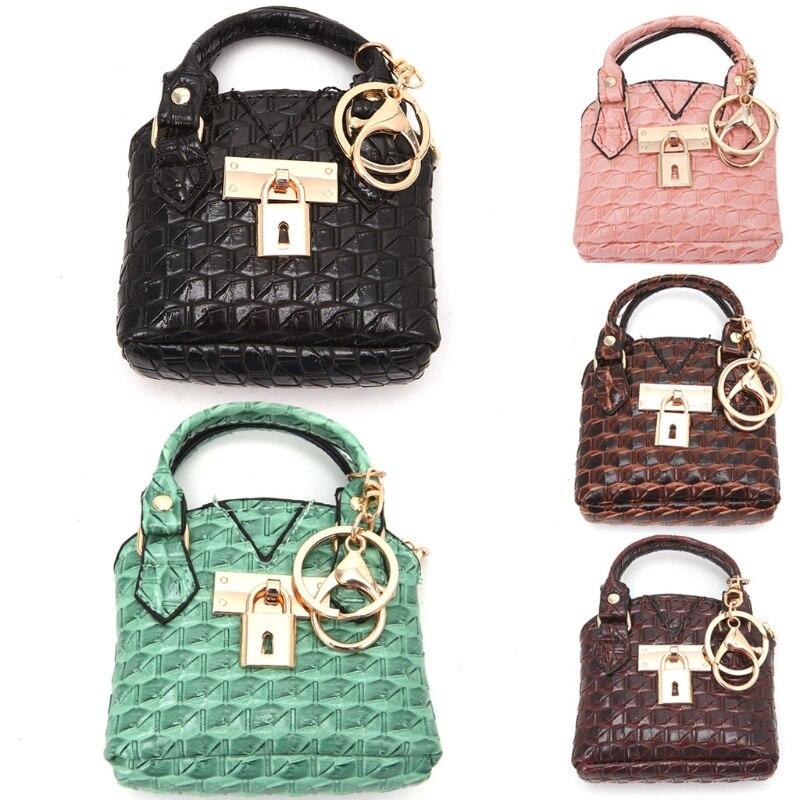 THINKTHENDO Women Change Coin Purse Zipper Wallet Key Ring Key Chain Holder Pouch Small Bag