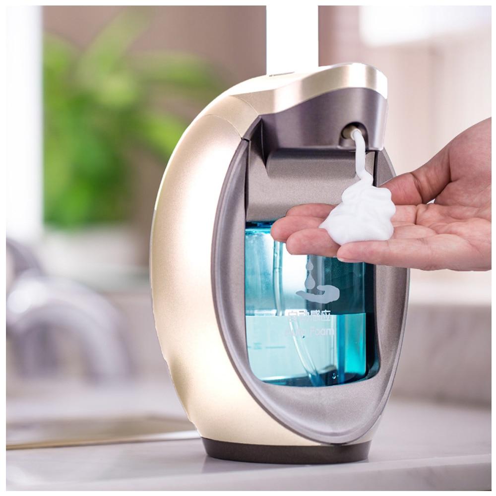 Automatic Soap Dispenser Touchless Sanitizer Dispenser Built-in Infrared Smart Sensor For Kitchen Bathroom Soap Dispenser 520ml automatic touchless soap dispenser motion activate smart sensor sanitizer dispenser pump for kitchen bathroom shower