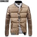 Hot 2016 New Winter Couple Models Tyrant Gold Korean Jacket Men Slim Fit Fashion Coat Parkas For Male Mens Brand Clothing S-XXXL