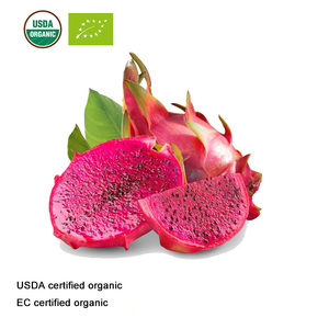 Image 3 - USDA and EC Certified Organic Pitaya Juice Powder Red Dragon Fruit Juice Powder
