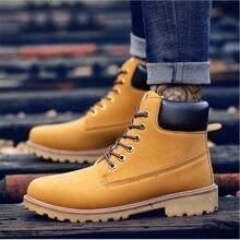 cd98671f26 VIXLEO 2019 Chegada Nova Primavera Outono Homens Botas de Camurça Estilo  Unisex Amante Sapatos de Trabalho