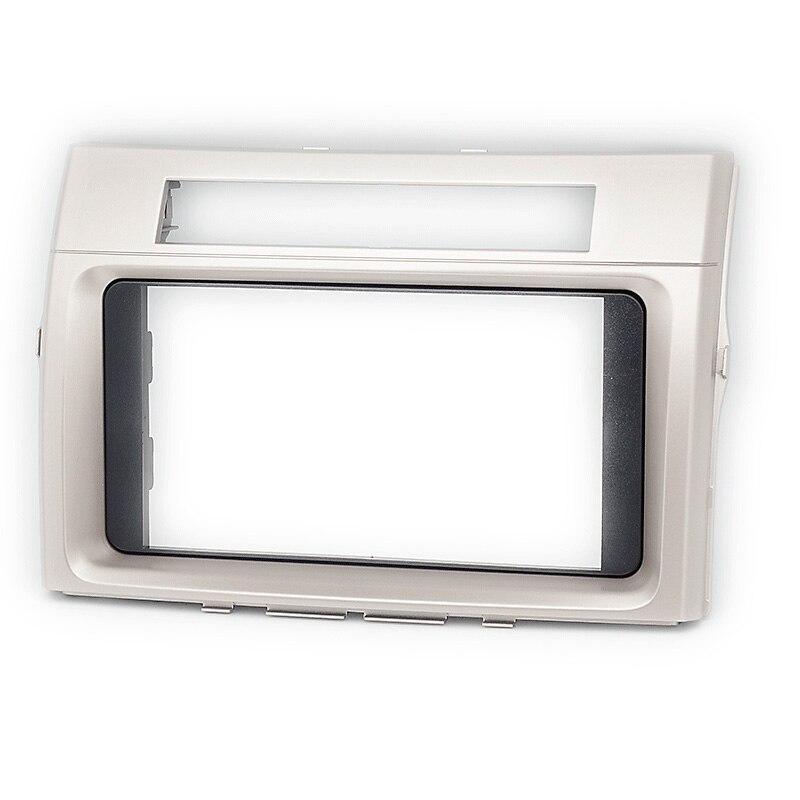 2 Din Car Radio Stereo Fascia Panel Frame DVD Dash Installation Trim Kit for TOYOTA Corolla Verso 2004-2009