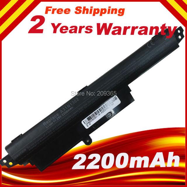 """Bateria frete grátis Para ASUS VivoBook X200MA X200M X200LA A31N1302 11.6 """"A31LMH2 A31LM9H"""