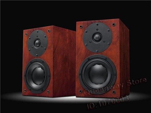 HiVi D1.1 haut-parleur d'étagère 2way 4th inventé professionnel 5 basses 28mm dôme tweeter sensibilité 86dB 8Ω manipulation de puissance 10-120 W