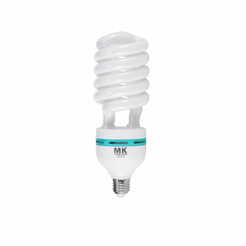 Tri-phosphor glühbirne 150 watt 5500 Karat 220 V E27 Fotografie Beleuchtung Videokamera LED licht tageslichtlampen für Fotostudio