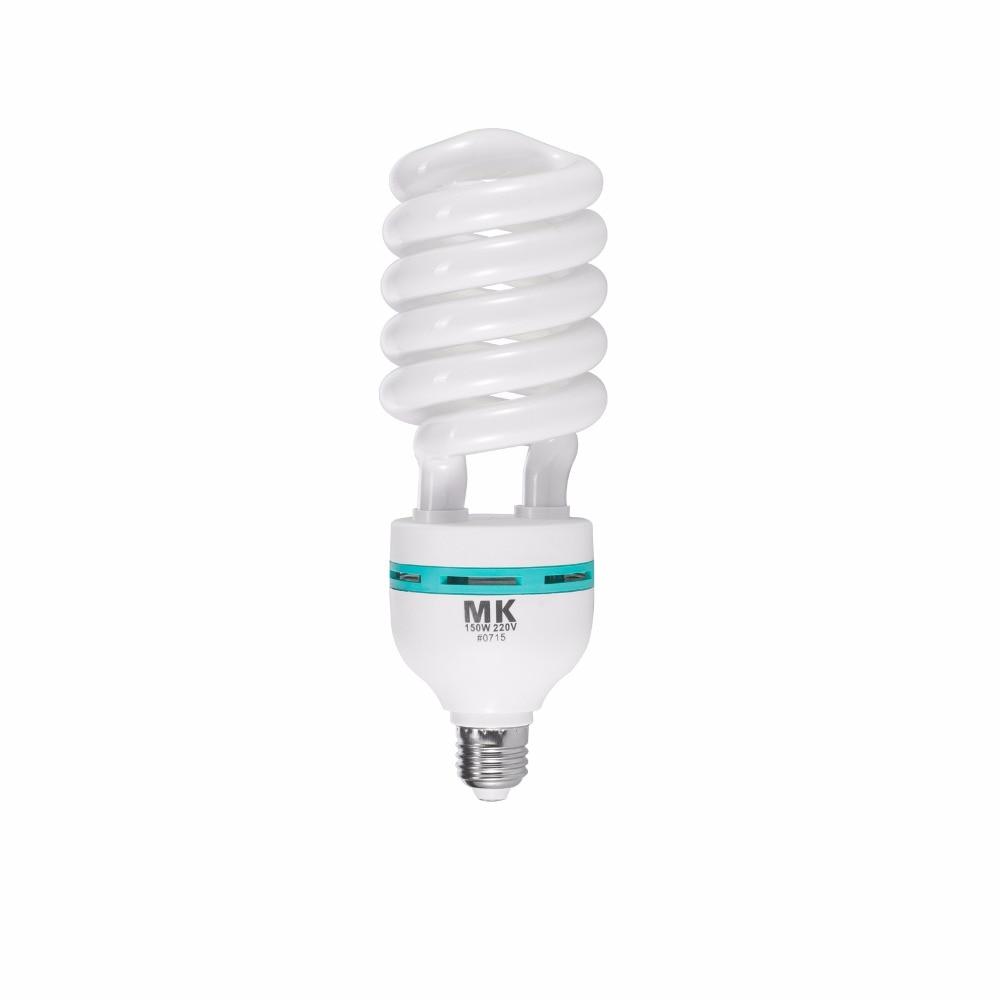 Tri-phosphor Light Bulb 150w 5500K 220V E27 Photography Lighting Video Camera LED Light Daylight Bulbs For Photo Studio
