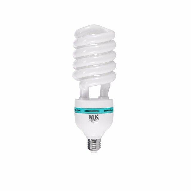 Tri phosphor light bulb 150w 5500K 220V E27 Photography Lighting Video Camera LED light daylight bulbs for Photo Studio