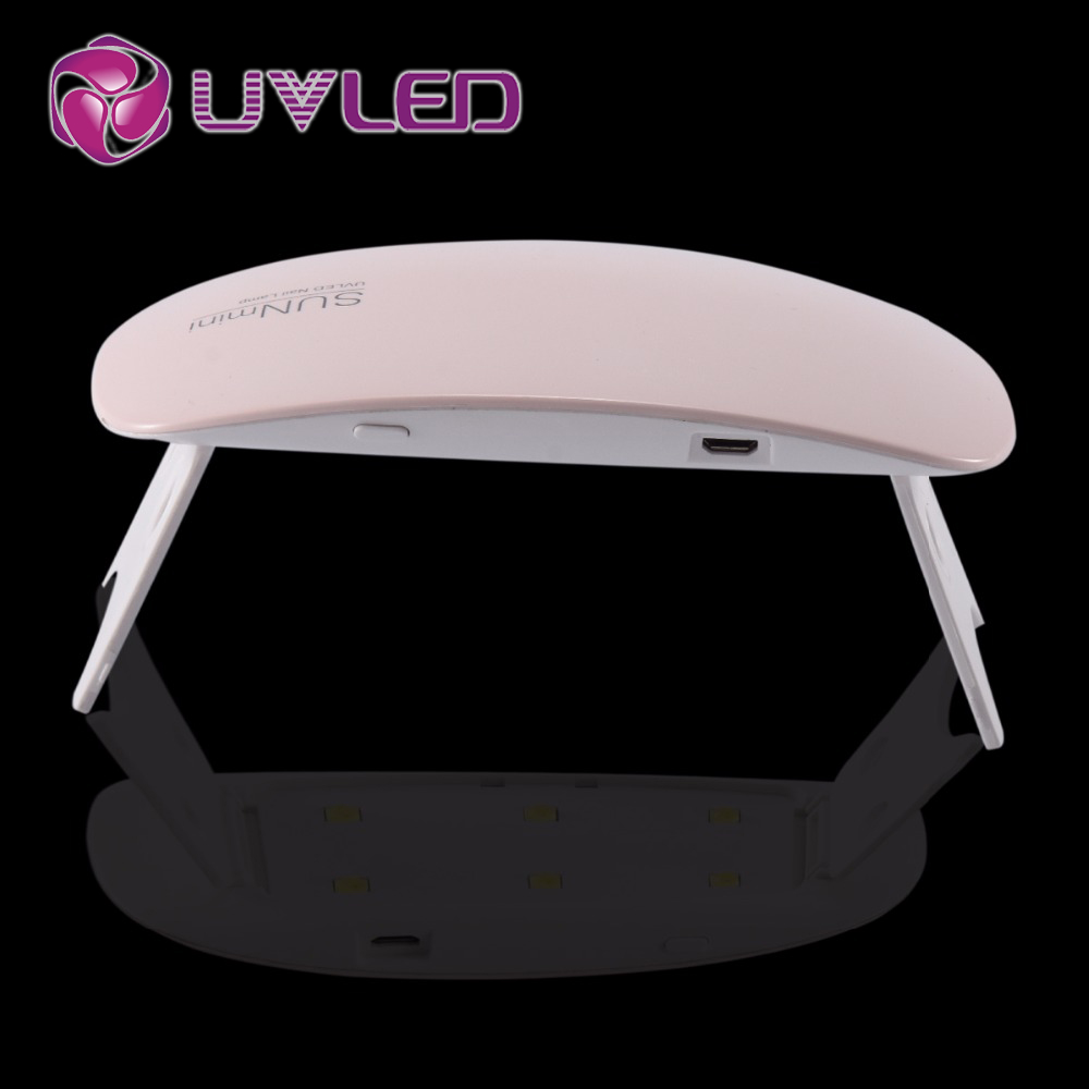 Sun Mini 6w Uv Lamp Mini Uv Led Lamp Nail Polish Dryer