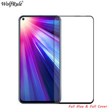 2pcs LCD Screen Protector Huawei Honor View 20 Full Glue Glass For Huawei V20 Full Cover Tempered Glass For Huawei Honor View 20 glass for huawei honor view 30 pro tempered glass full cover glue screen protector for huawei honor view 30 for honor v30 glass