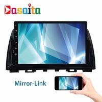 Android 6 0 2Din Car GPS Player Navi For Mazda 6 Atenza 2013 2014 With 10