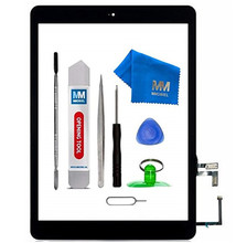 MMOBIEL Digitizer For IPAD Air 9.7Inch Black/White Touch Screen Front Display Assembly Incl Home Button flex Camera Holder цена в Москве и Питере