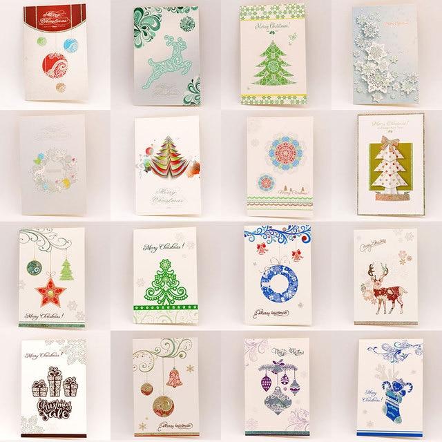 8pcsset cute cartoon deer christmas greeting card kids birthday greeting cards christmas decoration gift - Deer Christmas Cards