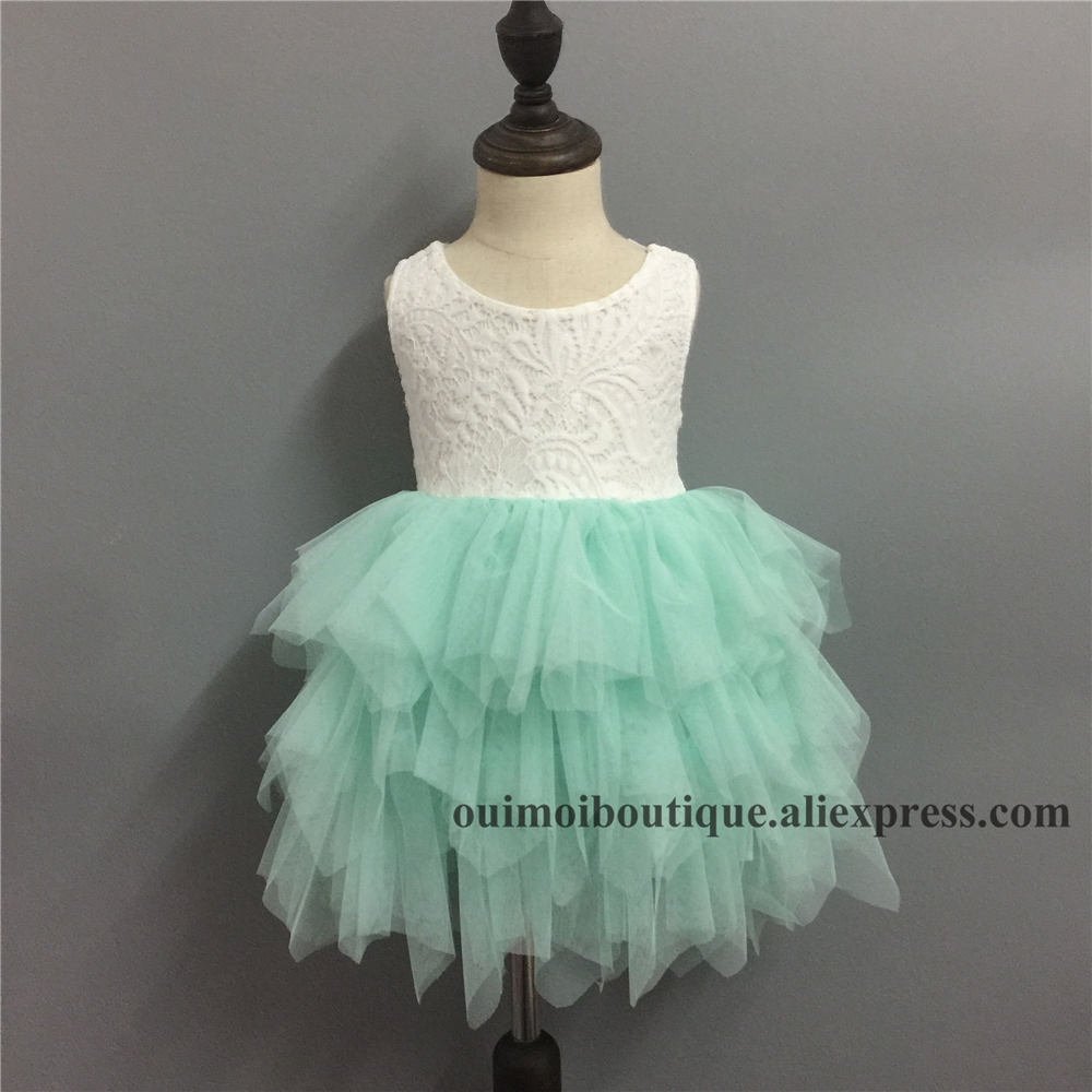 2018 infant toddler girls lace layered dress children princess ...