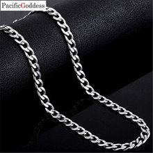 316L titanium stainless steel necklaces chains NK chain