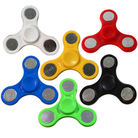 Jumrun Fidget Toys Plastic EDC Hand Fidget Spinners Tri Spinners For Autism And ADHD Kids Adult