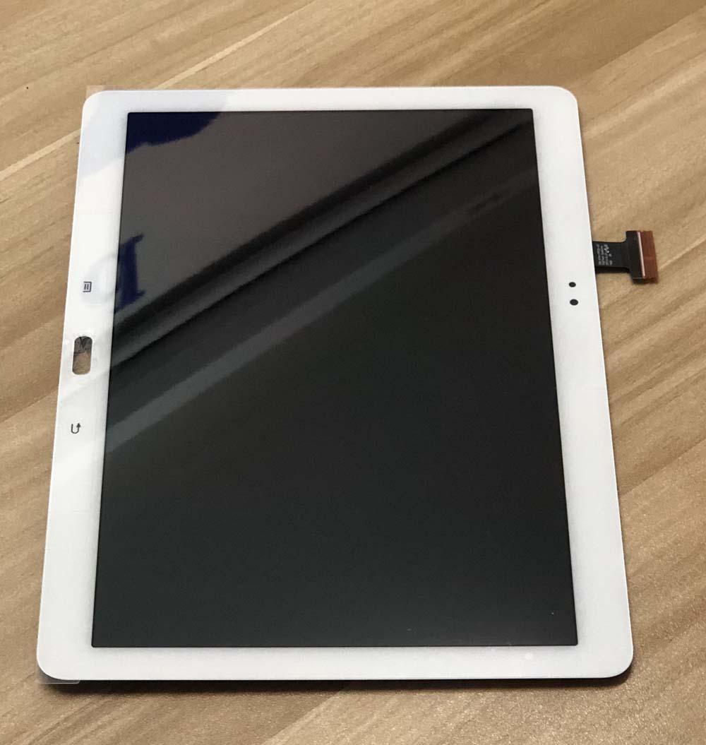 Plein Écran Tactile Capteur En Verre Digitizer + Écran Lcd Assemblage de L'écran Du Panneau pour Samsung Galaxy Note 10.1 SM-P600 p601 P605