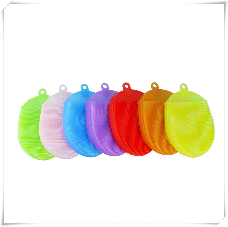 Silicone cleaning brush xq7