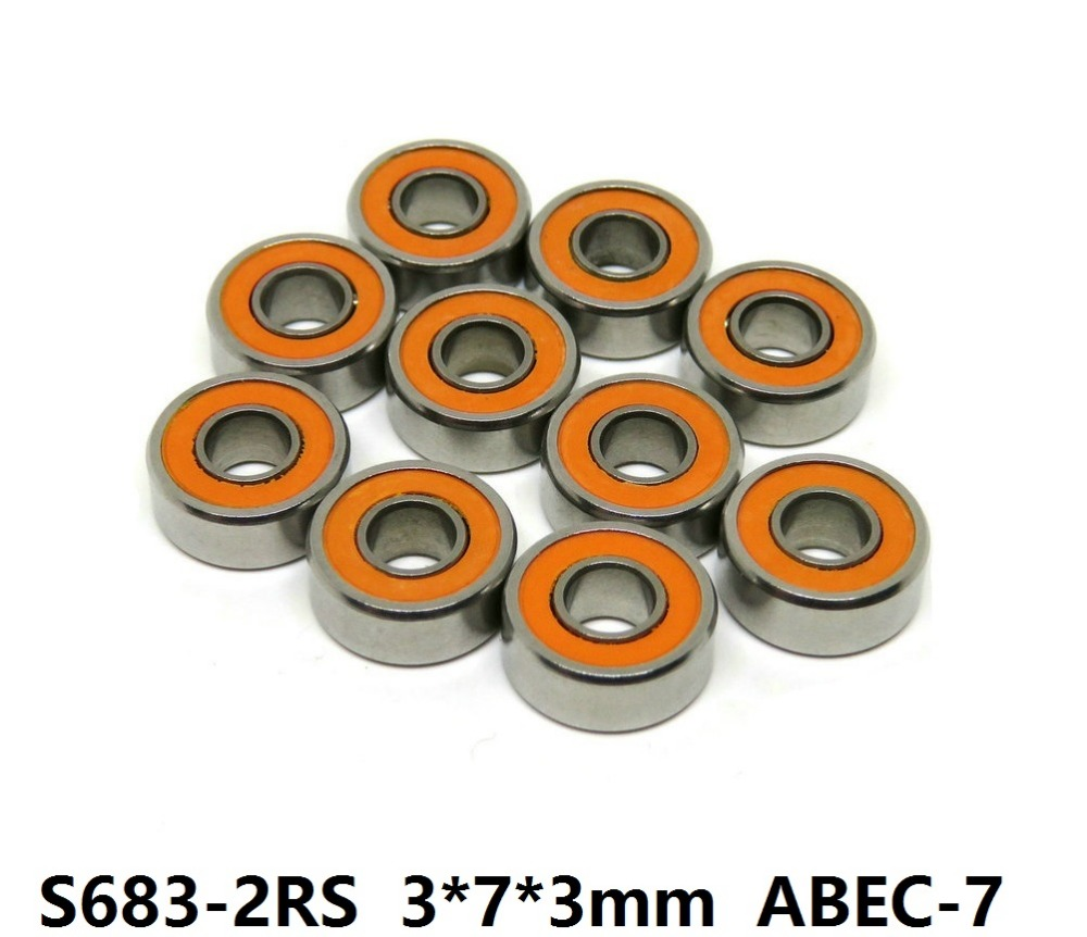 6pcs or 10pcs S683-2RS 3x7x3 mm ABEC-7 Stainless Steel hybrid Si3n4 ceramic bearing 683RS 683 2RS CB LD for fishing reel 3*7*3 6pcs or 10pcs s698 2rs 8x19x6 mm abec 7 stainless steel hybrid si3n4 ceramic bearing 698rs 698 2rs cb ld fishing reel 8 19 6