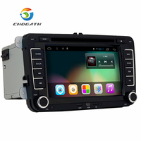 CHOGATH 7 2 Din Android 6 Car Dvd Player Radio Gps For Volkswagen VW Skoda POLO