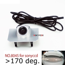 Appr.180deg CCD Front camera for Land Rover Range Rover Evoq