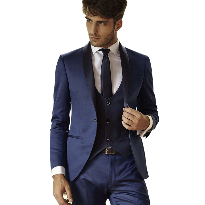 High Quality Navy Blue Dress Suit Promotion-Shop for High Quality ...