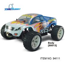 hsp rc car toy 1/10 scale electric monster truck brushed rc540 motor 7.2v 1800mAh battery (item no. 94111)