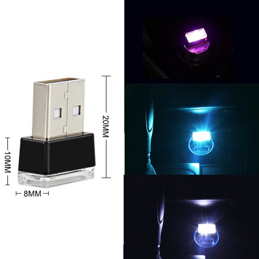 Us 1 94 11 Off 5v Led Atmosphere Lights Mini Usb Cigarette Lamps Car Suv Cargo Coach Automotive Bus Trucks Van Rv Decorative Lighting Blue Cw In