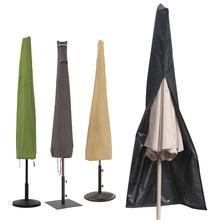 420D ткань Оксфорд открытый сад патио зонтик крышка водонепроницаемый Пылезащитная сумка с изображением зонта домашняя сумка на молнии