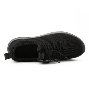 Image 4 - FEVRAL, nuevos zapatos informales de malla para hombres, zapatos con cordones para hombres, cómodos y ligeros, zapatillas de moda transpirables, zapatos de alta calidad para hombres
