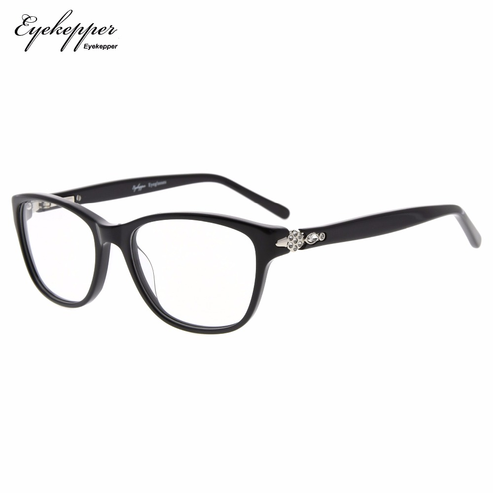 87f61c0495df FA0061 Eyekepper Glasses Frame Rx-able Acetate Eyeglasses For Small Face