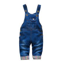 Children Pants Baby Clothes Children Overalls Pants Popular Girls Boys Jeans Pants Kids Trousers 18M-4T(China)