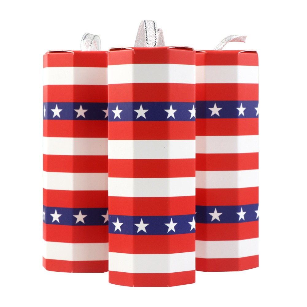 OurWarm 10Pcs/lot Firework Candy Boxes 4th Of July American Flag ...