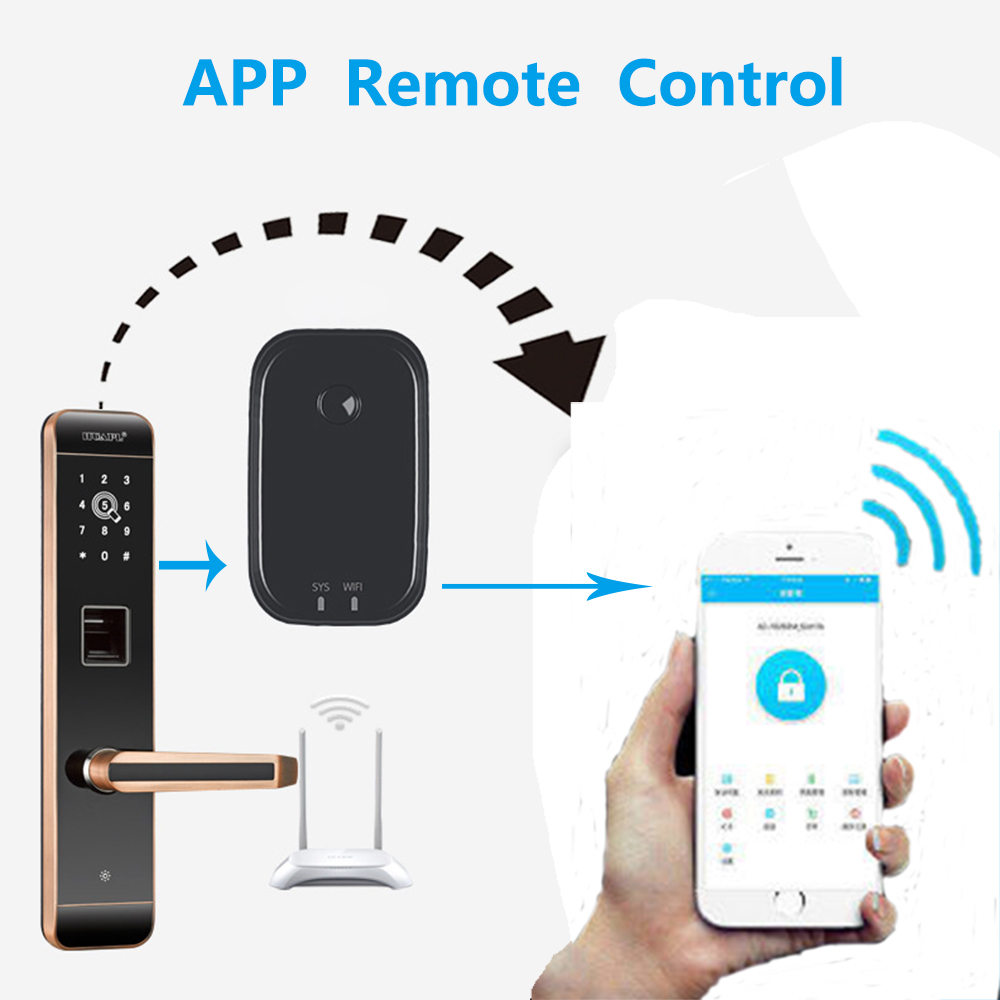 TT App Bluetooth adaptateur de serrure de porte électronique intelligent wifi passerelle Bluetooth intelligente