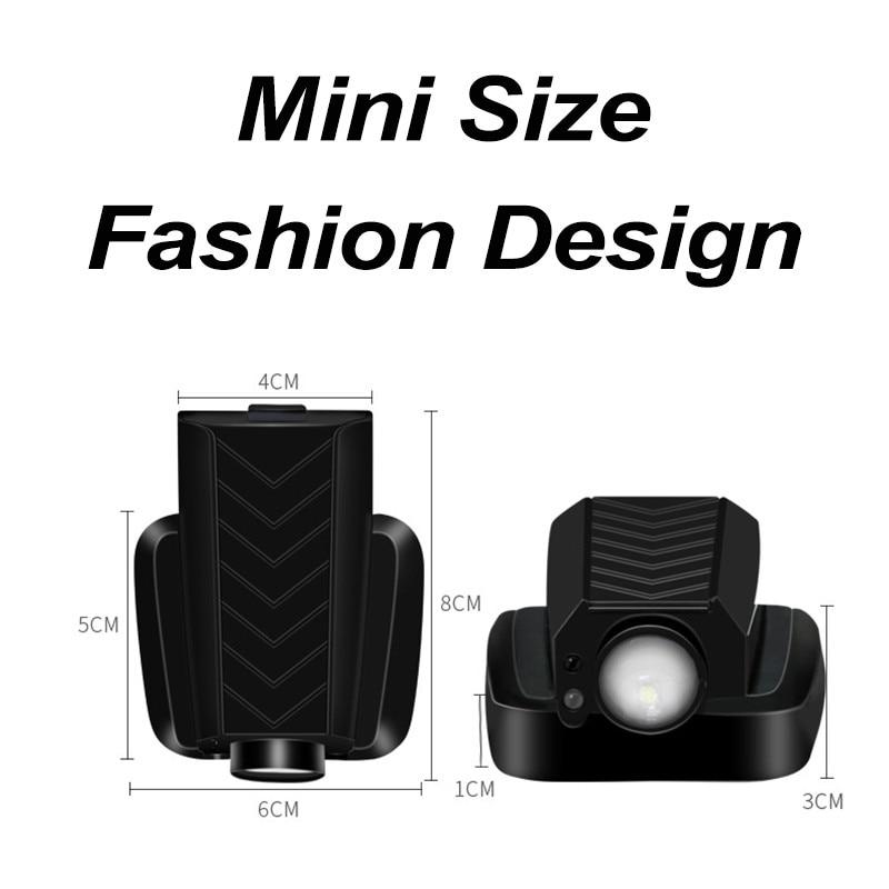 rechargeable LED car welcome logo light led car light