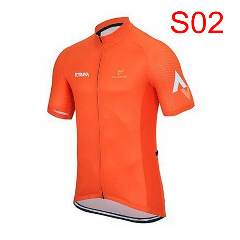 ALI shop ...  ... 32965819670 ... 4 ... 2018 STRAVA Men short sleeve cycling jerseys Cycling jerseys mtb cycle bike only shirt cycling clothing Maillot Ciclismo K122409 ...