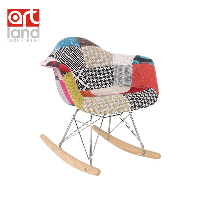 Children S Chair Armchair Rocking Chair Upholstered Side
