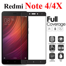 Protective glass on ksiomi redmi note 4x screen protector for xiaomi red mi 4 x tempered x4 note4x note4 armor not xomi xiomi(China)