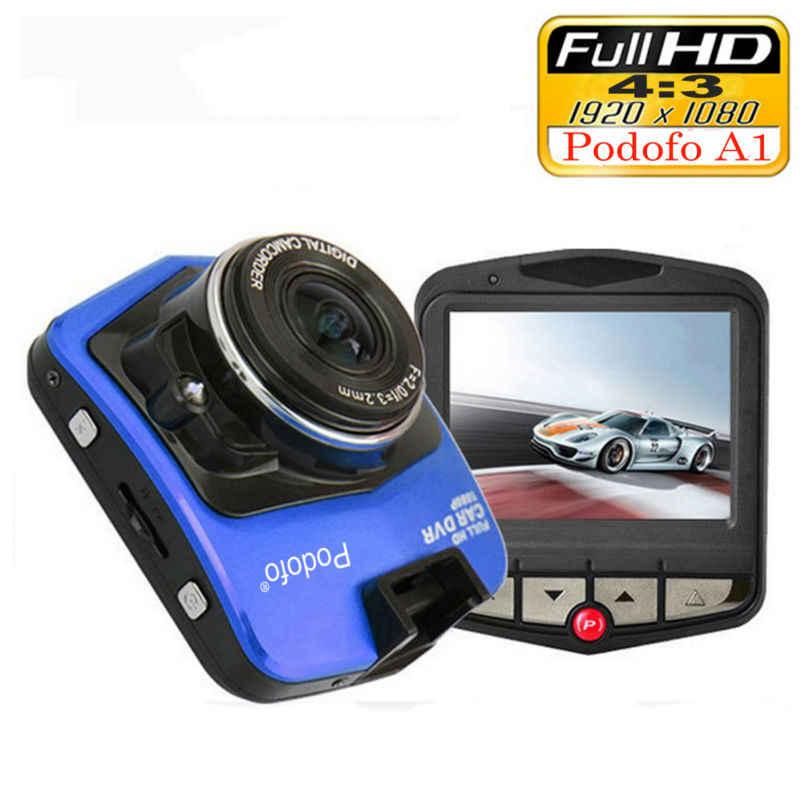2019 جديد الأصلي Podofo A1 سيارة صغيرة كاميرا DVR داشكام كامل HD 1080P مسجل فيديو مسجل G-الاستشعار كاميرا سباق بالرؤية الليلية