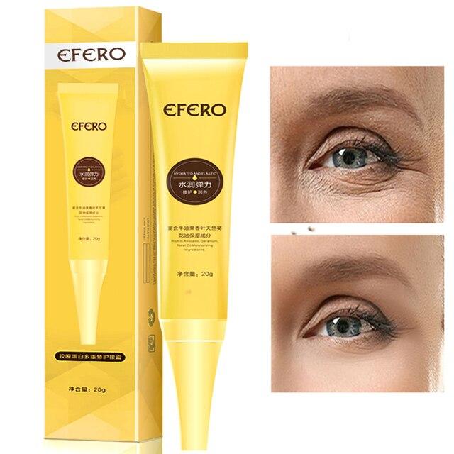 EFERO Moisturizing Eye Cream Collagen Deep Repair Dark Circle Eye Essence Cream Anti Aging Wrinkle Cream for Eye Care Nourishing