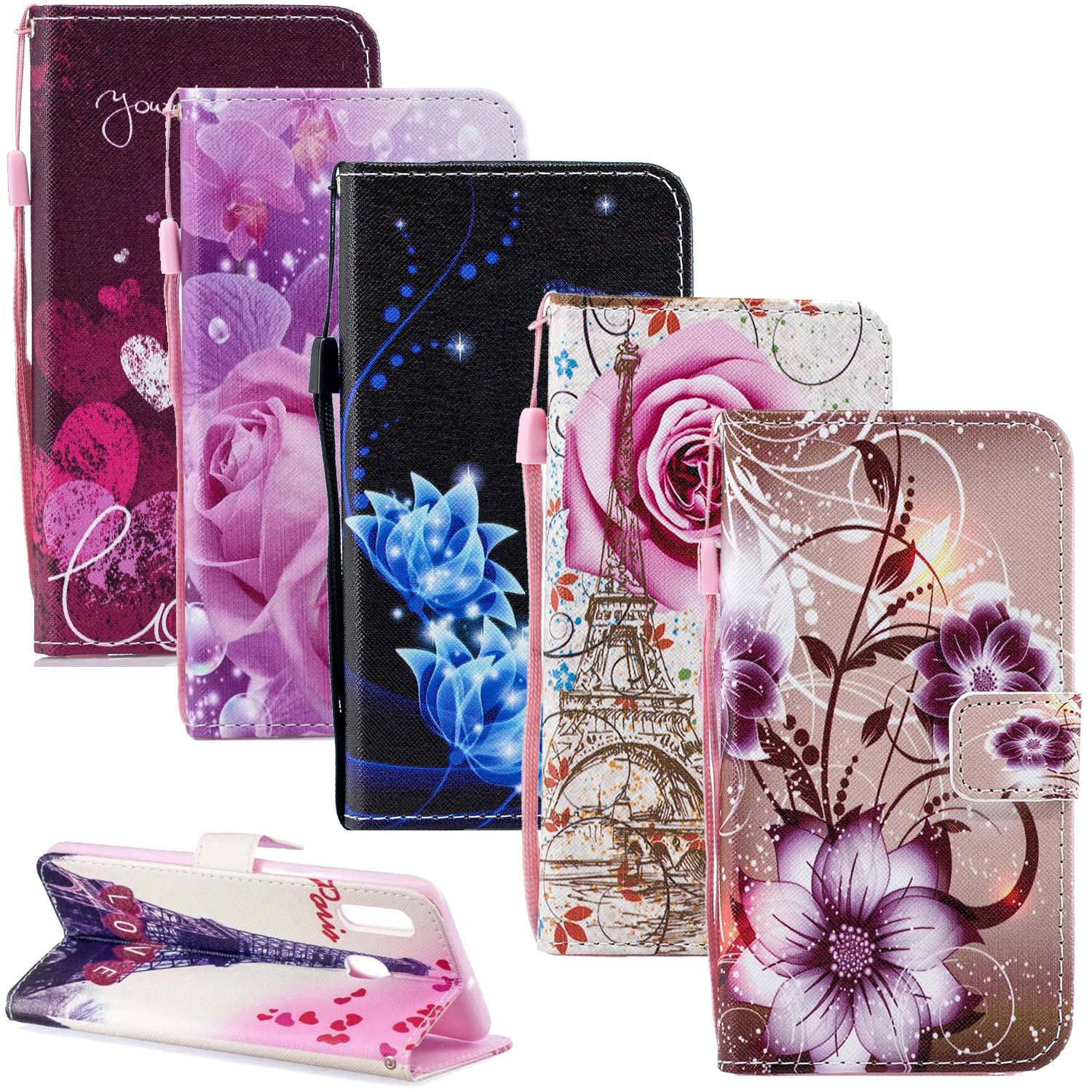 Cover Wallet-Case J5prime S8-Plus Samsung Galaxy For A7 A8 A6 J4/j6 J2 Pro J5prime/A10/A30/..