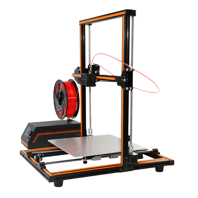 Anet E10 E12 3D Printer Aluminium Frame Easy Assembly Large Printing Size Impresora 3D Printer DIY Kit with 10M PLA Filament 4