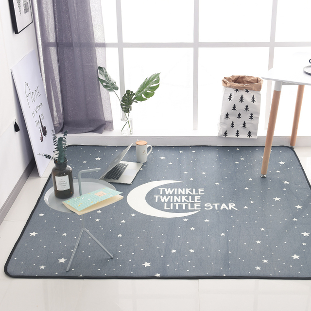 WINLIFE Simple Style Large Area Carpets Decorative Rugs For Living Room/Bedroom  Tea Table Mats