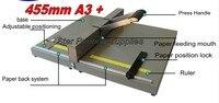 Heavy Duty Manual Papier Creaser Rillen Machine voor Papier Fotokaart 450mm Scoren Machine