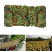 3X4M Hunting Military Camouflage Net Woodland Army training Camo netting Car Covers Tent Shade Camping Sun Shelter